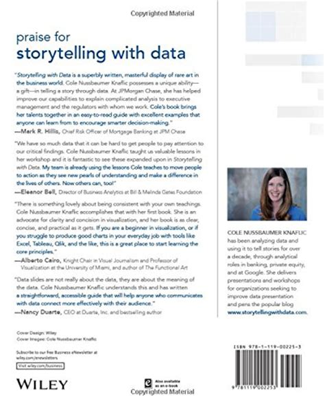 Storytelling With Data A Data Visualization Guide For Business Profs storytelling with data a data visualization guide for business professionals business