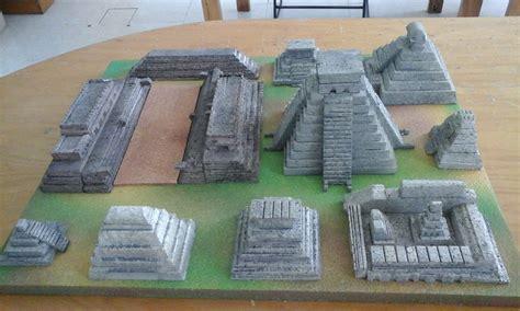 imagenes de maquetas mayas historia maqueta grupo 5020