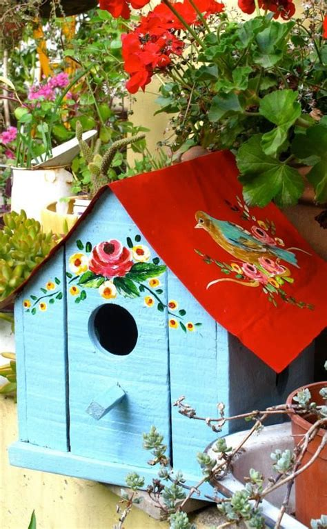 colorful bird houses 17 best ideas about birdhouse designs on