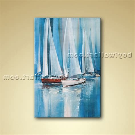 boat canvas wall art 15 inspirations of boat wall art