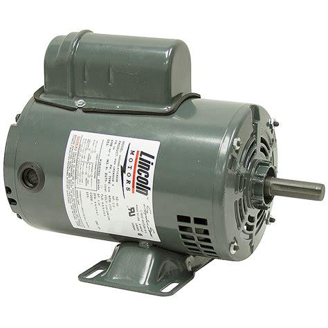 lincoln motors 1 2 hp 1725 rpm 115 230 vac motor lincoln motors lm24551