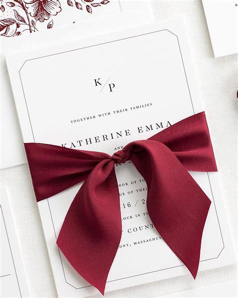 Wedding Invitations Ribbon by Katherine Ribbon Wedding Invitations Ribbon Wedding