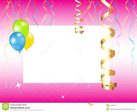 Party Invitation Stock Vector Image Of Background