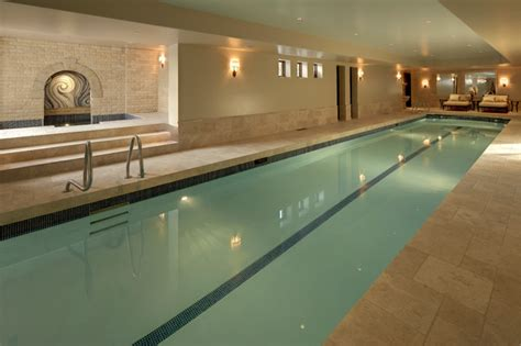 indoor lap pool indoor pools spas traditional pool calgary by
