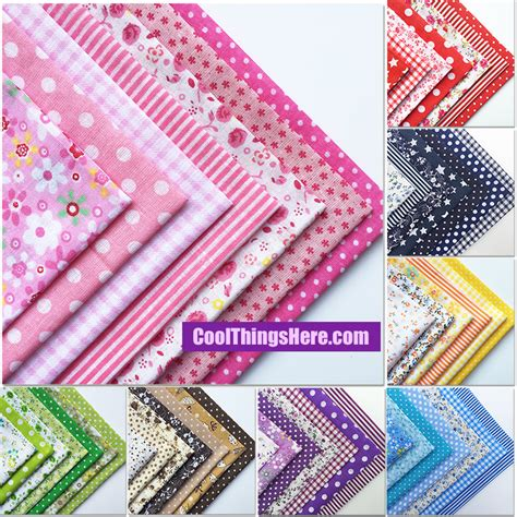 Patchwork Quilting Supplies by 55pcs Cotton Quilting Patchwork Floral Pokadots Checkered