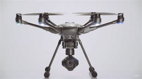 Drone Yuneec Typhoon H ces 2016 yuneec typhoon h drone powered by intel realsense can automatically avoid obstacles