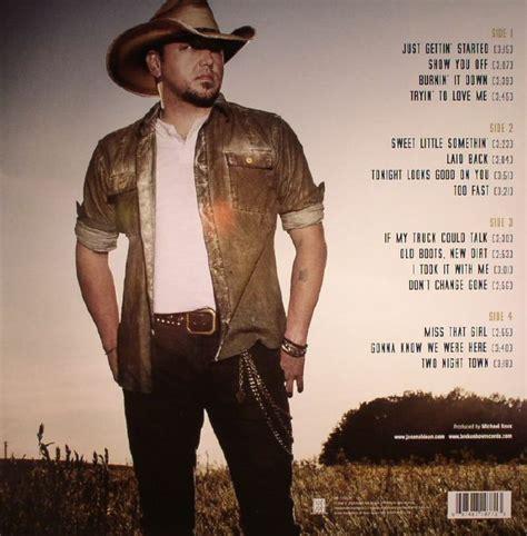 jason aldean boots new dirt vinyl at juno records