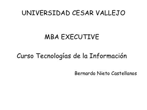 Universidad Interamericana De Executive Mba by 2 Aplicacion De Tic S En Gerencia