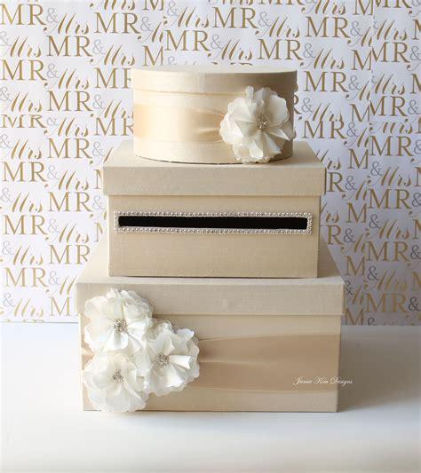 Gift Card Holder For Wedding - wedding card box money box gift card holder by jamiekimdesigns