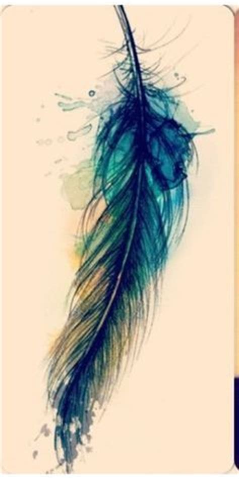 watercolour feather tattoos google search tattoos