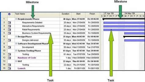 project milestone template pin milestone project plan exles on
