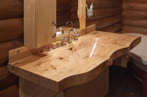 Waschbecken Auf Holz by Best Choosing A Wooden Sink Theydesign Net Theydesign Net