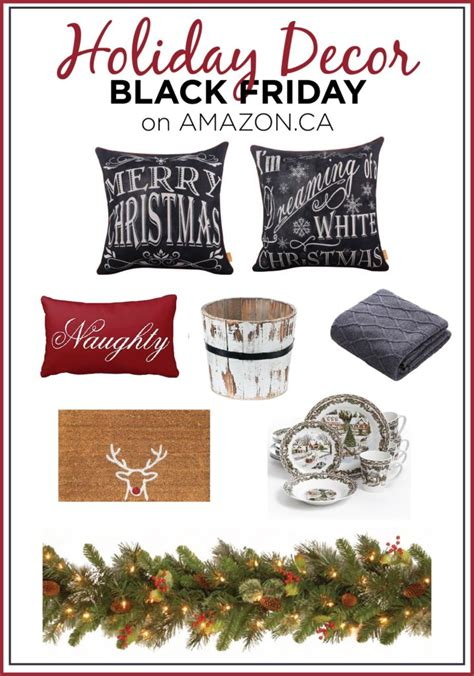christmas decorations black friday black friday decor deals to start the season right curtains are open