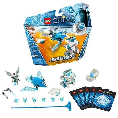Lego 70151 Chima Frozen Spikes lego legends of chima 70151 speedorz frozen spikes lego lego legends of chima construction