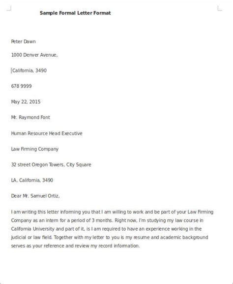 Request Letter Asking A Favor 44 Exles Of Formal Letters