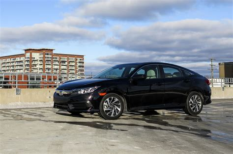 honda civic 2016 sedan 2016 honda civic ex sedan review automobile magazine