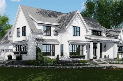2886 square feet 6 bedrooms 4 batrooms 2 parking space farmhouse style house plan 4 beds 4 5 baths 2886 sq ft
