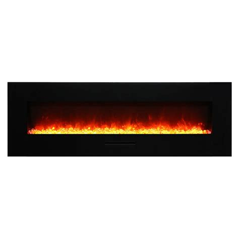Flush Electric Fireplace by Amantii Wm Fm 60 7023 Bg Wall Mount Flush Mount Electric Fireplace Electric Fireplaces