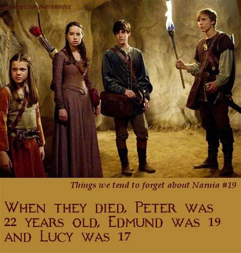 Facts About Narnia The The Witch And The Wardrobe by Narnia Facts Myself Included Always Forget How