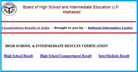 Bor Up up board result 2016 class 10th high school 12th