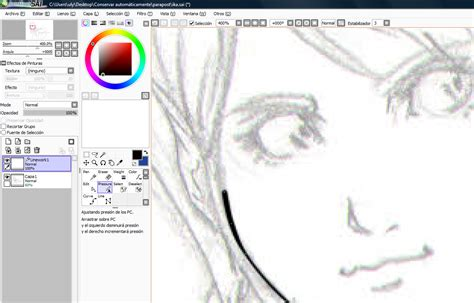 tutorial de dibujo en paint tool sai mini tutorial de manejo de paint tool sai taringa