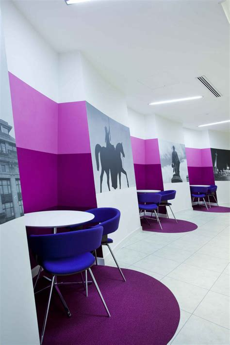 design concept for you glasgow inspiration offices clad in purple the color of royalty