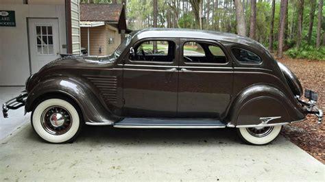 1934 Chrysler Airflow by Streamlined 1934 Chrysler Airflow Cy Sedan