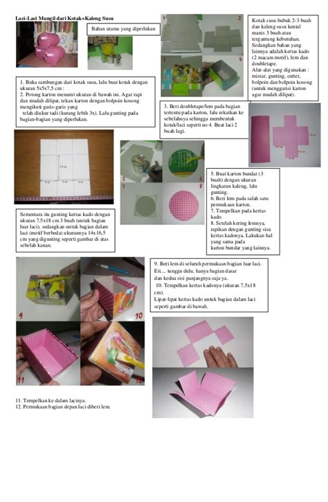 Bahan 12 Kotak cara membuat laci dari kaleng bekas