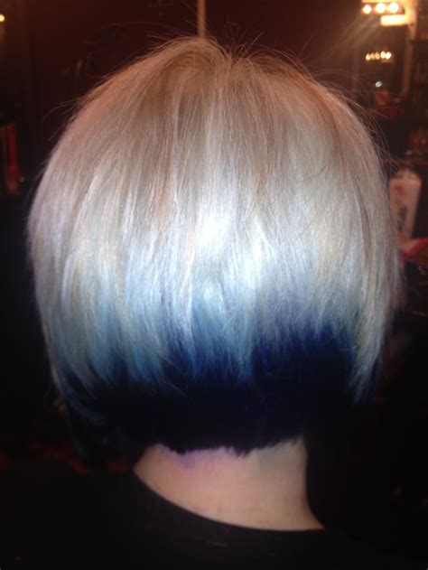 short hair with dark underneath 17 best images about hairtastic on pinterest short