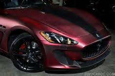 maserati velvet 2013 maserati granturismo mc with a custom velvet chrome