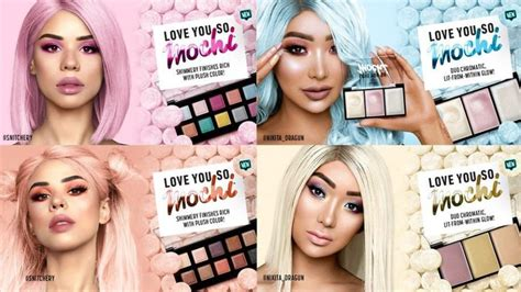 Nyx Mochi these products are inspired by macarons mochi and all