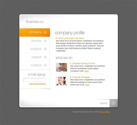 business swish template 9739