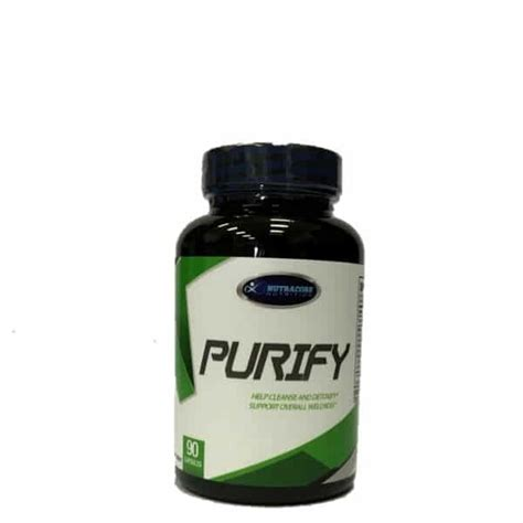 Purify Lgc Detox Price by Nutracore Nutrition Purify Detox 90 Capsules