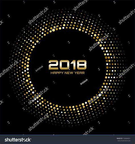new year texture vector vector happy new year 2018 card stock vector 726064621