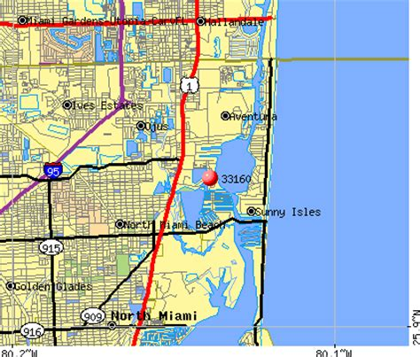 miami zip code map 33160 zip code miami florida profile homes