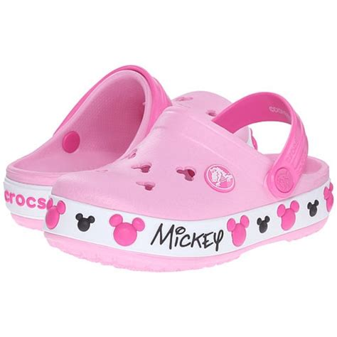 Crocband Mickey crocs crocs ni 241 as crocband mickey iv clog pink