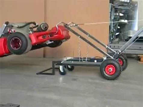 carrello porta kart usato easy lifter carrello elettrico solleva kart