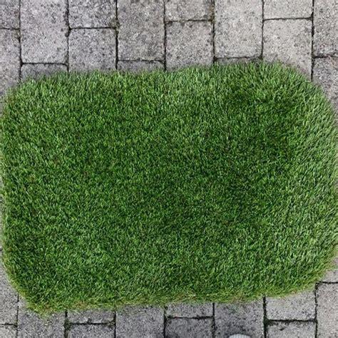 Grass Doormat by Artificial Grass Doormat Sanctuary Synthetics Shop