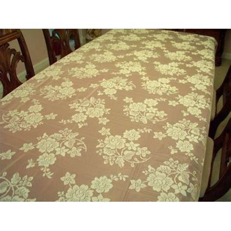 60 x 84 tablecloth fits what size table tablecloth bouquet 60x84 ivory table linens oxford