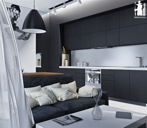Monochromatic Apartment by Artistic Apartments With Monochromatic Color Schemes