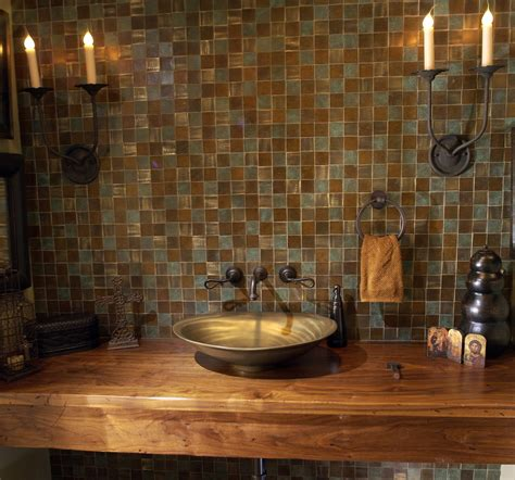 wood bathroom countertops natural look is popular trend in bathroom makeovers