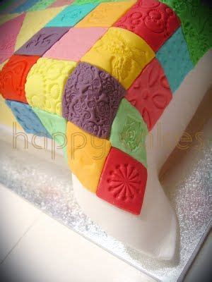 Patchwork Quilt Cake - 1000 ideas about quilted cake on fondant cake