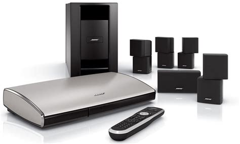 bose lifestyle t20 home theater system black