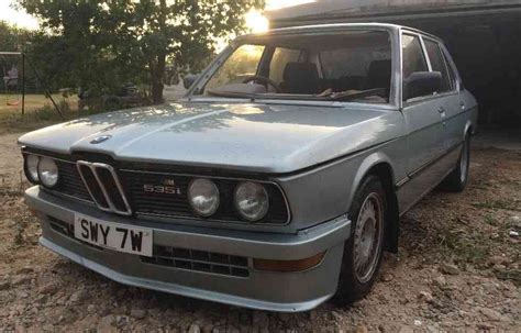 1980s bmw early m car 1980 bmw m535i