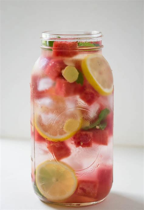 What Is Watermelon Detox Water For by Summer Cooling Watermelon Detox Water What U Eat