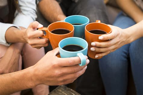 drank coffee coffee could lead to a longer scientist says whether it s caffeinated