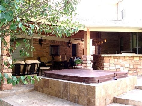 covered pit ideas houston covered patio with outdoor bar pit and