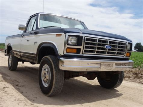 manual cars for sale 1984 ford f250 electronic valve timing 1984 ford f250 1 owner original low mileage 4x4