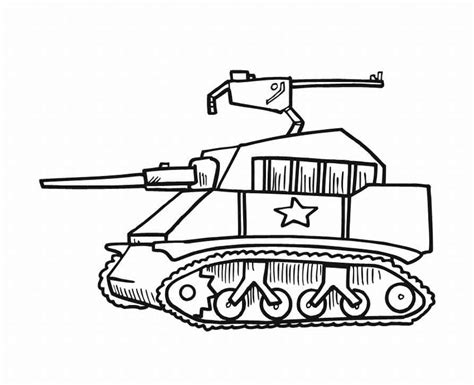 Army Tank Coloring Pages Military Tank Coloring Pages