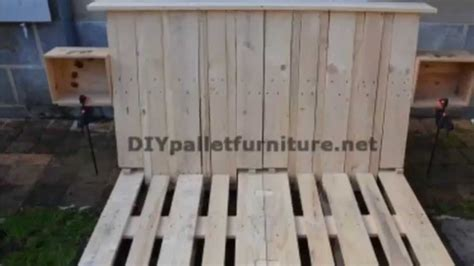 plan canapé bois chambre en bois de palette